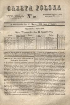 Gazeta Polska. 1830, Nro 69 (13 marca)