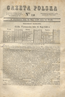 Gazeta Polska. 1830, Nro 126 (12 maja) + dod.