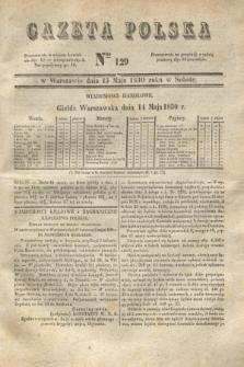 Gazeta Polska. 1830, Nro 129 (15 maja) + dod.