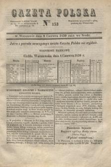 Gazeta Polska. 1830, Nro 153 (9 czerwca)