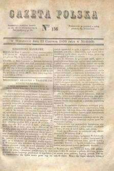 Gazeta Polska. 1830, Nro 156 (13 czerwca) + dod.