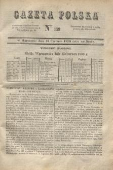 Gazeta Polska. 1830, Nro 159 (16 czerwca)