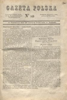 Gazeta Polska. 1830, Nro 163 (20 czerwca)