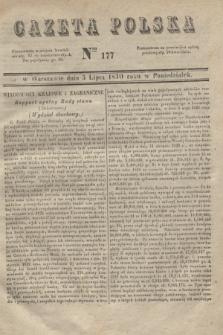 Gazeta Polska. 1830, Nro 177 (5 lipca)