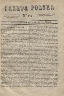 Gazeta Polska. 1830, Nro 178 (6 lipca)