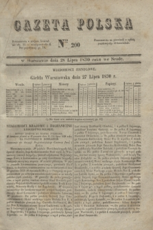 Gazeta Polska. 1830, Nro 200 (28 lipca)