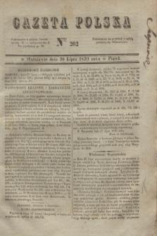 Gazeta Polska. 1830, Nro 202 (30 lipca)