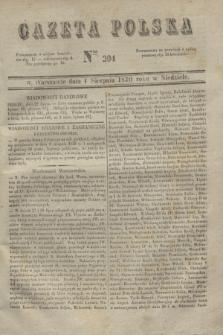 Gazeta Polska. 1830, Nro 204 (1 sierpnia)