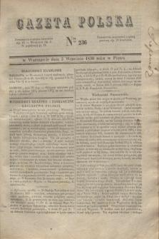 Gazeta Polska. 1830, Nro 236 (3 września)