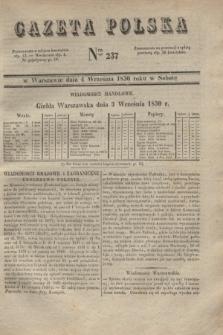 Gazeta Polska. 1830, Nro 237 (4 września)