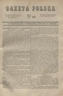 Gazeta Polska. 1830, Nro 265 (3 października)