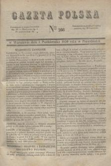 Gazeta Polska. 1830, Nro 266 (4 października)