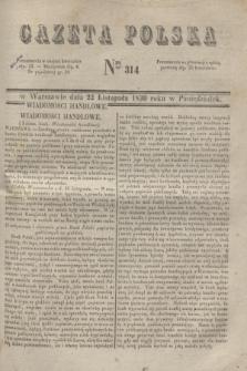 Gazeta Polska. 1830, Nro 314 (22 listopada)