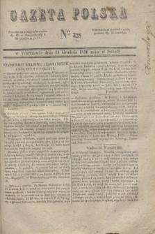Gazeta Polska. 1830, Nro 328 (11 grudnia)