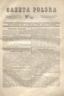Gazeta Polska. 1830, Nro 15 (17 stycznia)