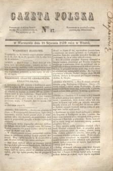 Gazeta Polska. 1830, Nro 17 (19 stycznia)