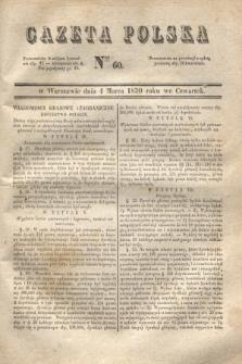 Gazeta Polska. 1830, Nro 60 (4 marca)