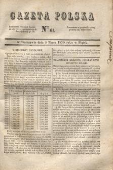 Gazeta Polska. 1830, Nro 61 (5 marca)