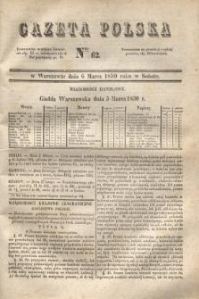 Gazeta Polska. 1830, Nro 62 (6 marca)