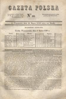 Gazeta Polska. 1830, Nro 66 (10 marca)