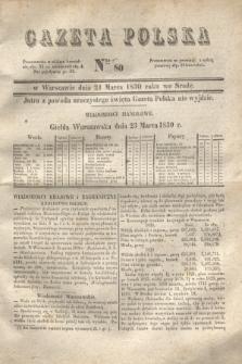 Gazeta Polska. 1830, Nro 80 (24 marca)