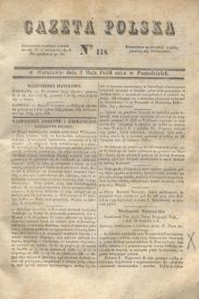 Gazeta Polska. 1830, Nro 118 (3 maja)