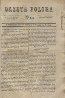 Gazeta Polska. 1830, Nro 246 (14 września)