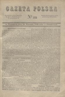 Gazeta Polska. 1830, Nro 252 (20 września)