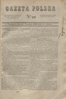 Gazeta Polska. 1830, Nro 253 (21 września)