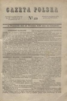 Gazeta Polska. 1830, Nro 255 (23 września)