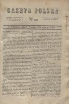 Gazeta Polska. 1830, Nro 256 (24 września)
