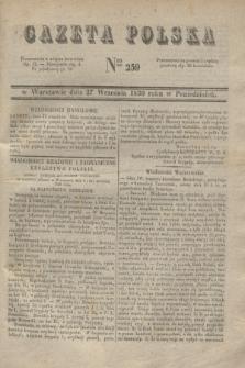 Gazeta Polska. 1830, Nro 259 (27 września)
