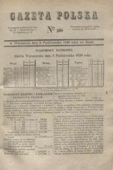 Gazeta Polska. 1830, Nro 268 (6 października)