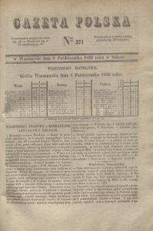 Gazeta Polska. 1830, Nro 271 (9 października)