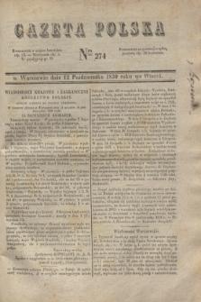 Gazeta Polska. 1830, Nro 274 (12 października)