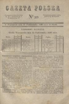 Gazeta Polska. 1830, Nro 275 (13 października)