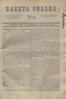 Gazeta Polska. 1830, Nro 277 (15 października)
