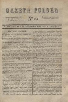 Gazeta Polska. 1830, Nro 280 (18 października)