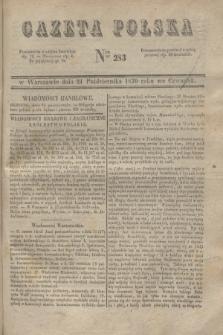 Gazeta Polska. 1830, Nro 283 (21 października)