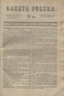 Gazeta Polska. 1830, Nro 284 (22 października)