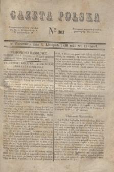 Gazeta Polska. 1830, Nro 303 (11 listopada)