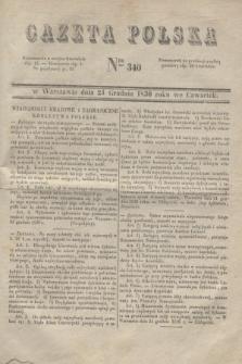 Gazeta Polska. 1830, Nro 340 (23 grudnia)