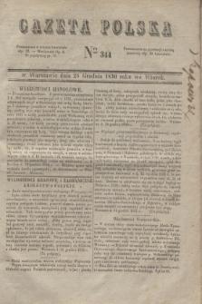 Gazeta Polska. 1830, Nro 344 (28 grudnia)