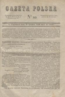 Gazeta Polska. 1830, Nro 345 (29 grudnia)
