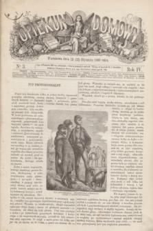 Opiekun Domowy. R.4, nr 3 (22 stycznia 1868)
