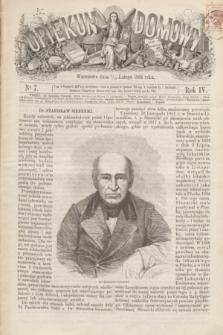 Opiekun Domowy. R.4, nr 7 (19 lutego 1868)