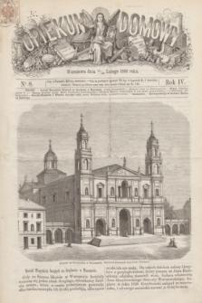 Opiekun Domowy. R.4, nr 8 (26 lutego 1868)