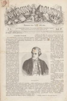 Opiekun Domowy. R.4, nr 9 (4 marca 1868)