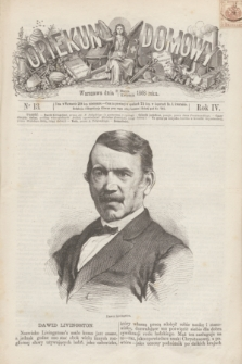 Opiekun Domowy. R.4, nr 13 (1 kwietnia 1868)