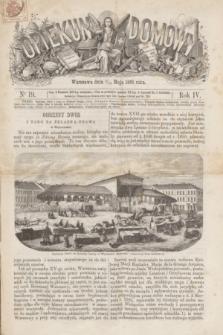 Opiekun Domowy. R.4, nr 19 (13 maja 1868)